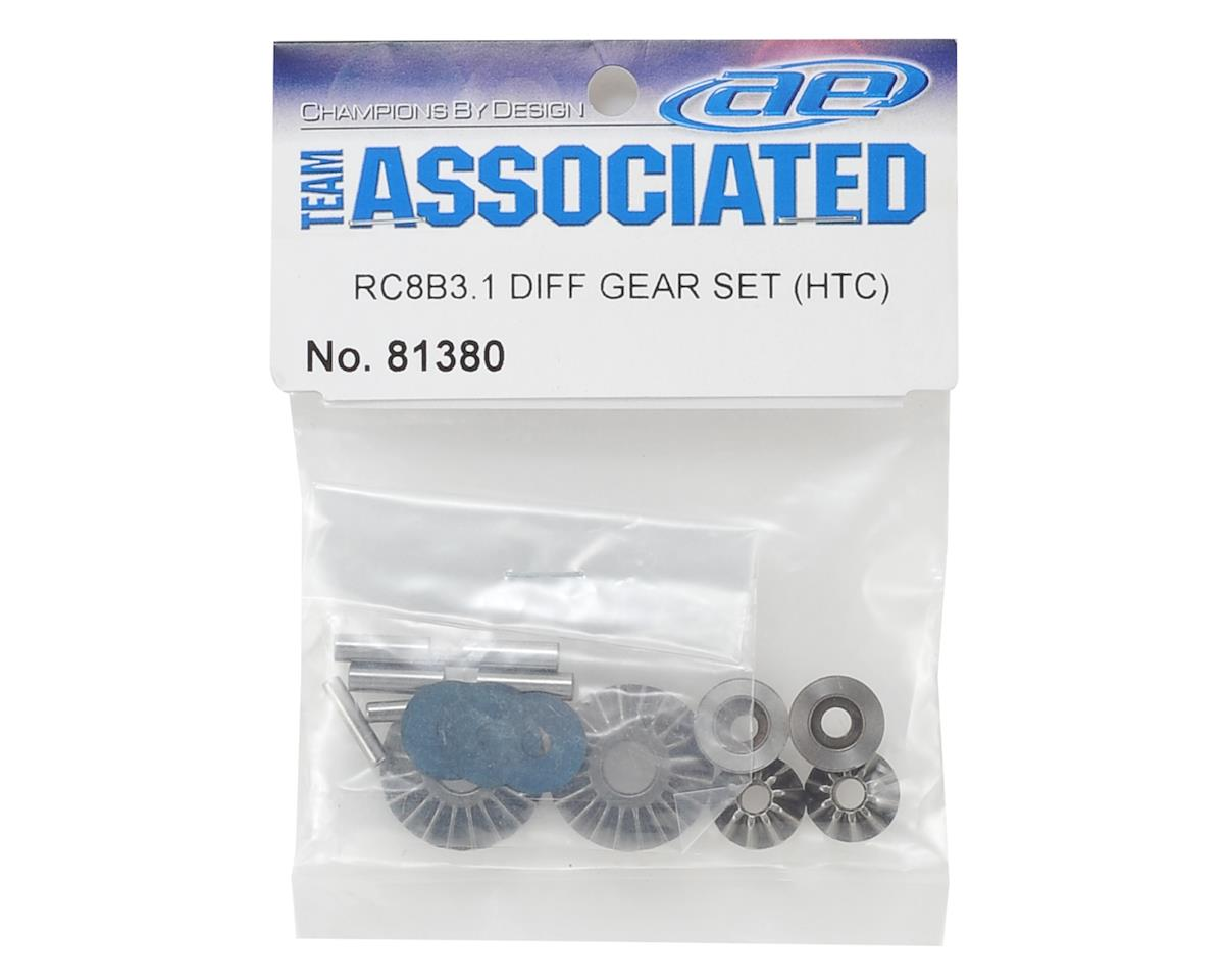 Team Associated RC8B3.1 HTC Differential Gear Set