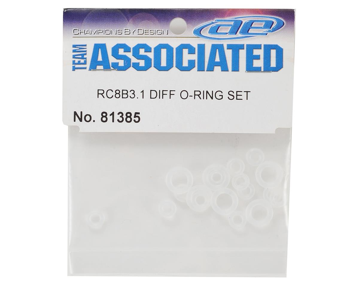 Team Associated RC8B3.1 Differential O-Ring Set