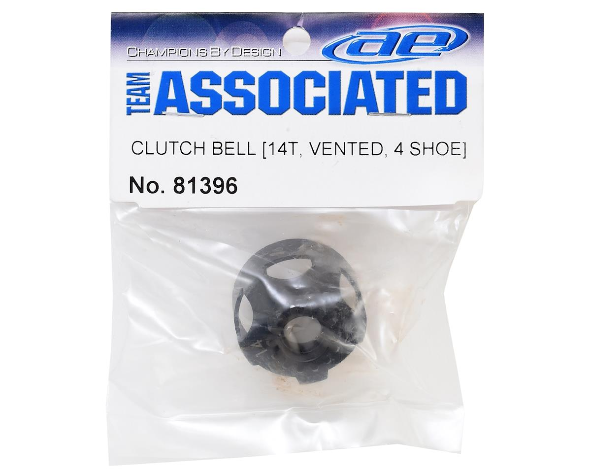 Team Associated 4-Shoe Vented Clutch Bell (14T)