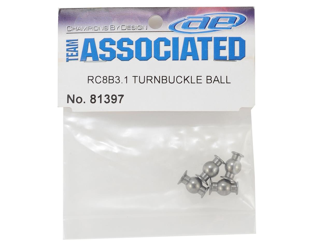 Team Associated RC8B3.1 Turnbuckle Balls (4)