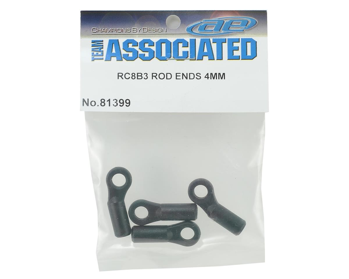 Team Associated 4mm RC8B3 Rod End Set (Straight & Bent)