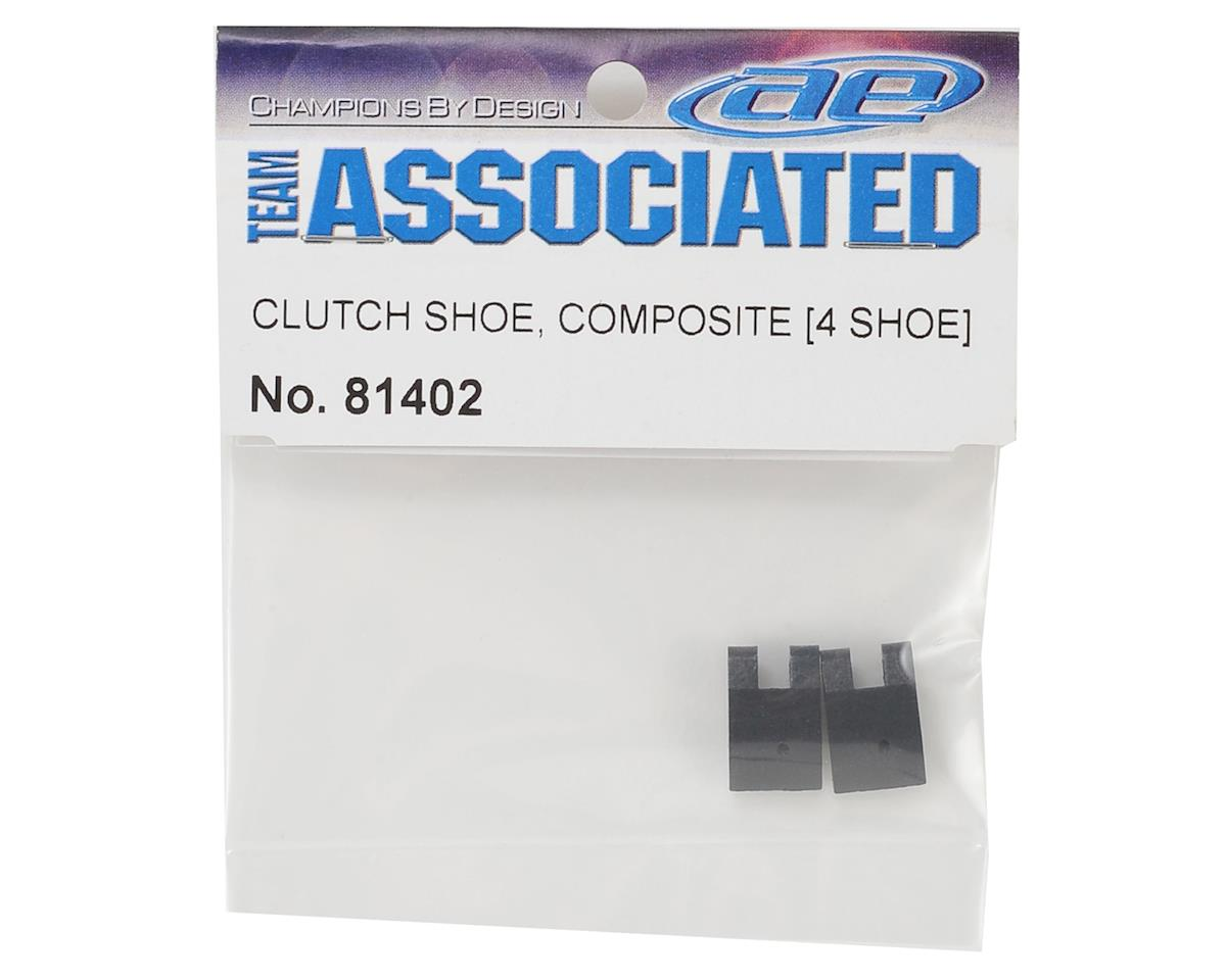 Team Associated 4-Shoe Composite Clutch Shoes (2)