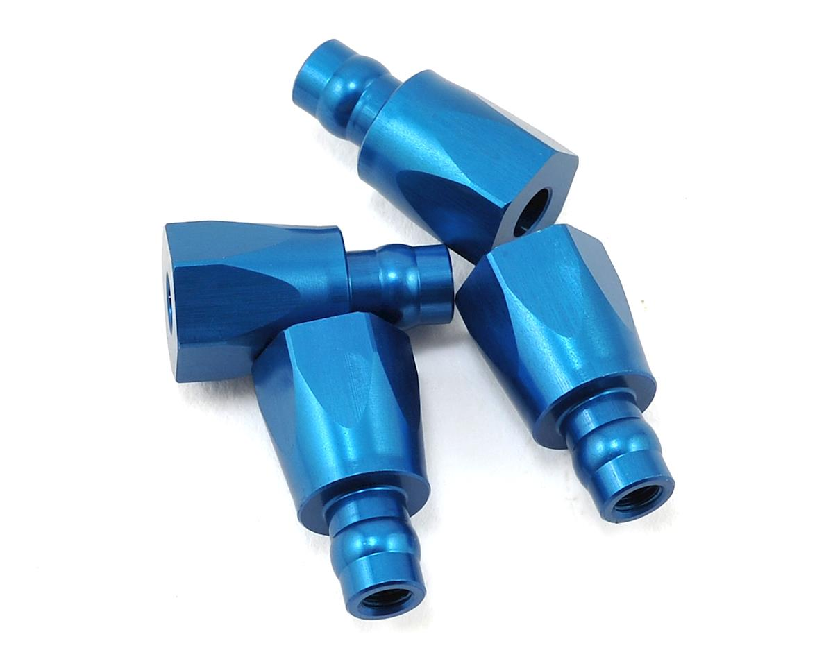 Aluminum RC8B3.1 Shock Bushings (4) by Team Associated