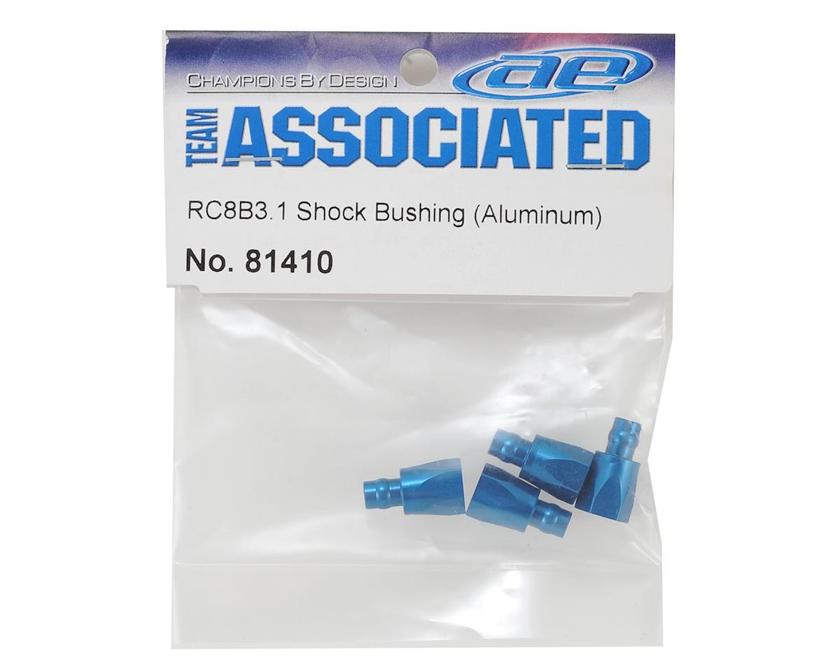 Team Associated Aluminum RC8B3.1 Shock Bushings (4)