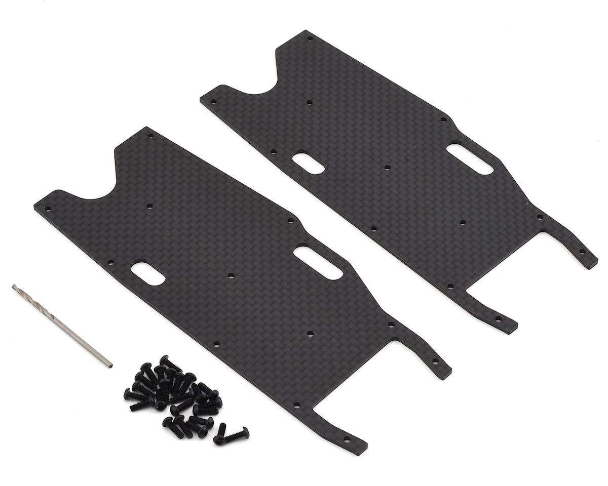Team Associated RC8T3.1 Factory Team Graphite Rear Arm Stiffeners
