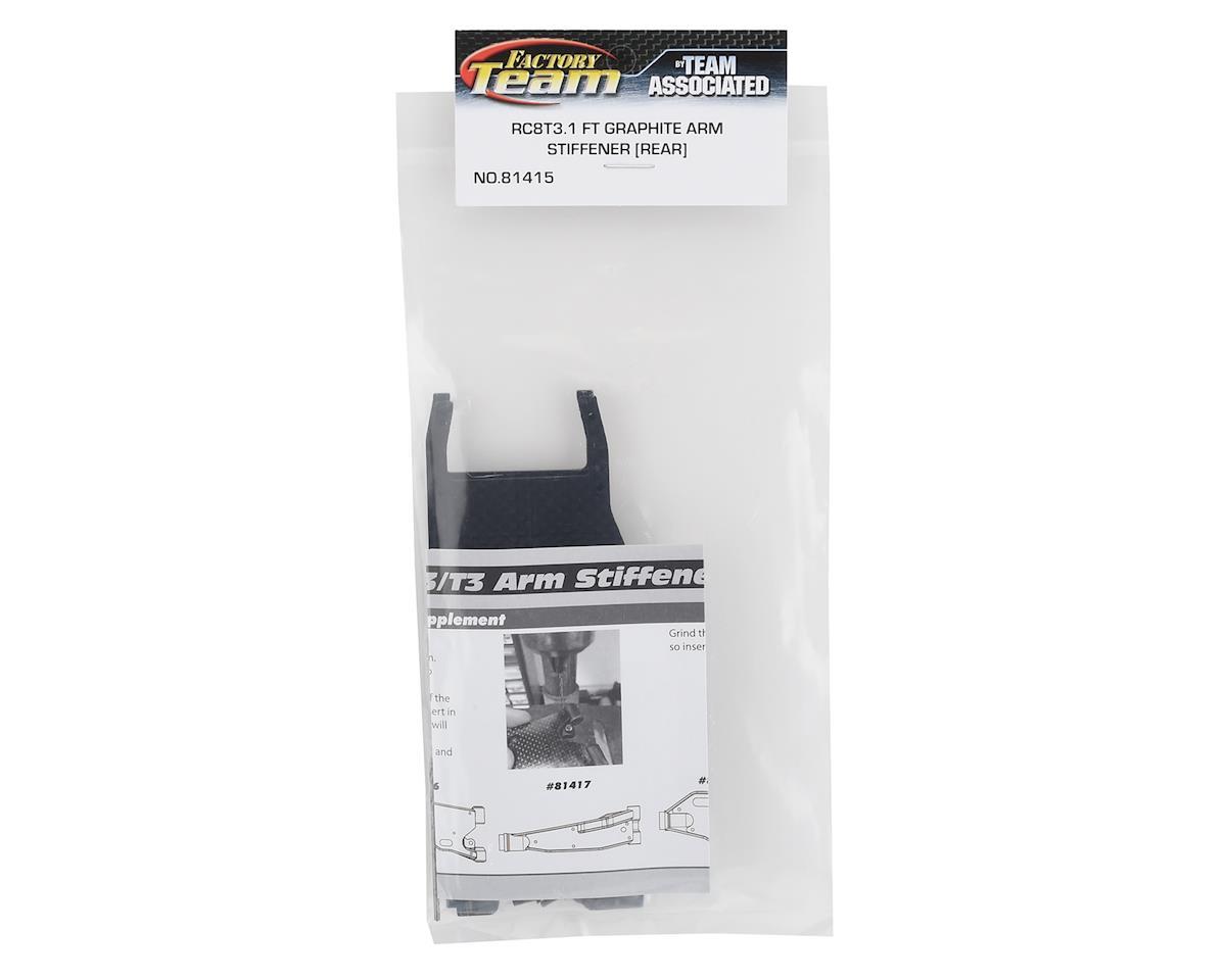 Team Associated RC8T3.1 Factory Team Graphite Rear Arm Stiffeners
