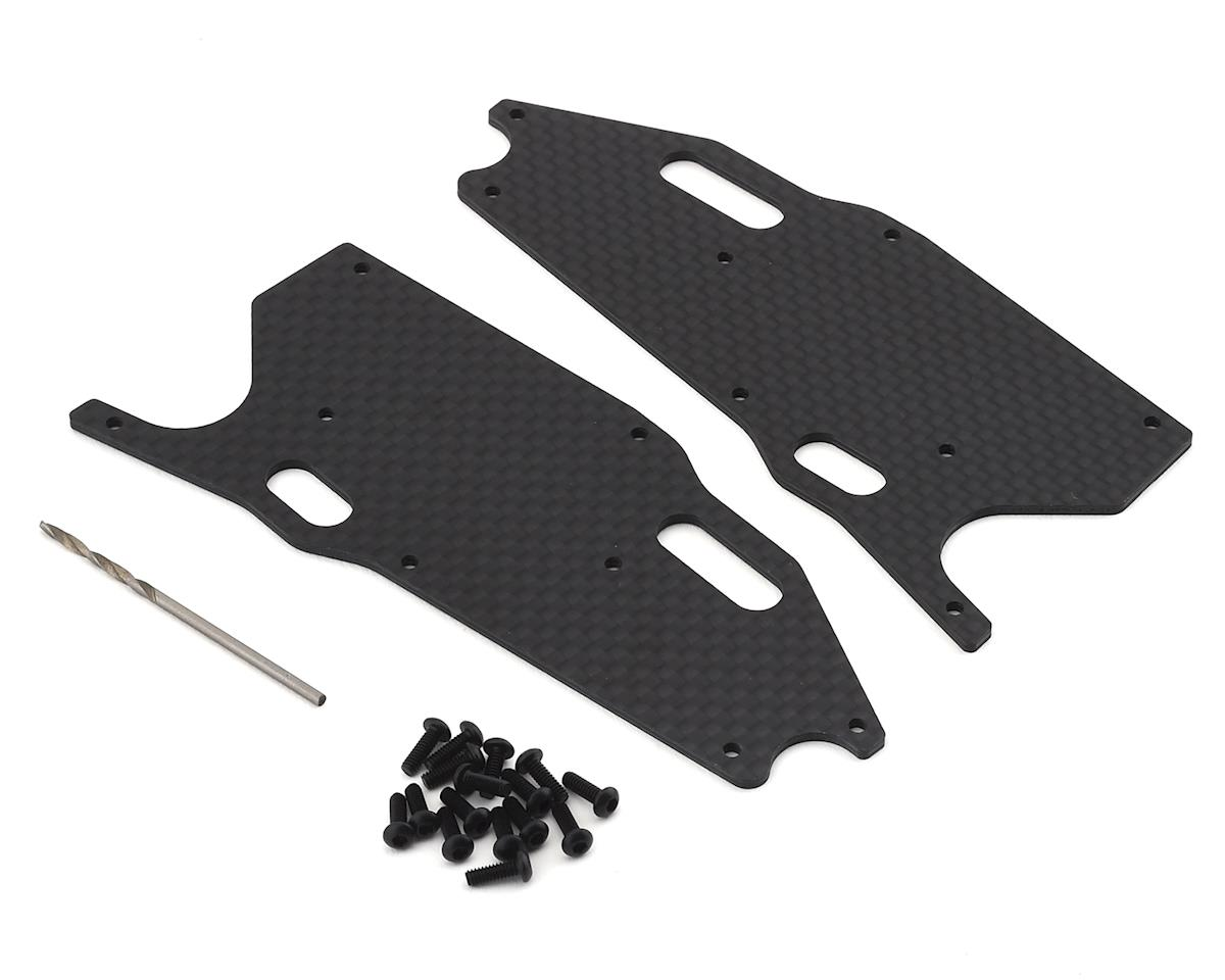 Team Associated RC8T3.1 Factory Team Graphite Front Lower Arm Stiffeners
