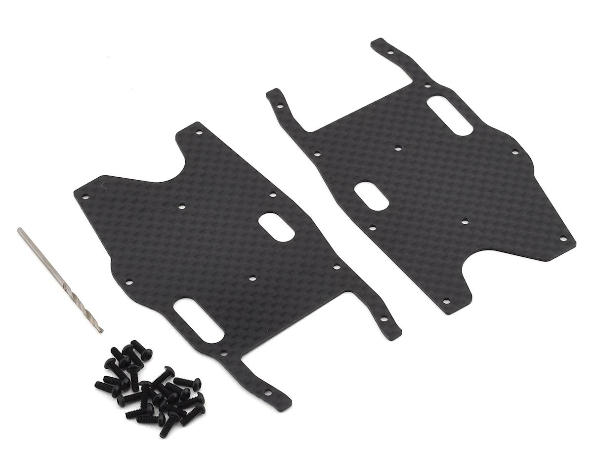 Team Associated RC8B3.1 Factory Team Graphite Rear Arm Stiffeners