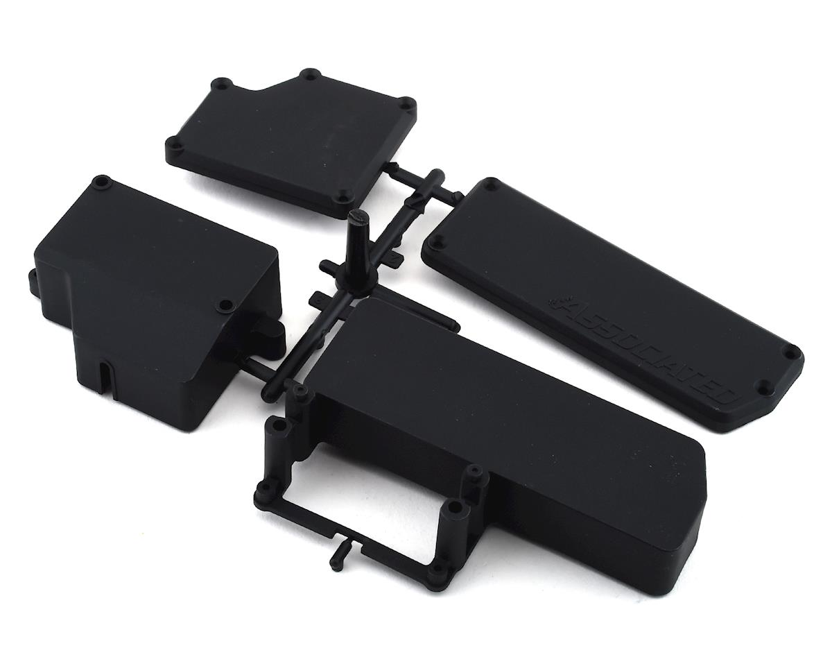 Straps /& Foams w// Hardware Team Associated RC8B3.2//RC8B3.2e 4WD Battery Tray