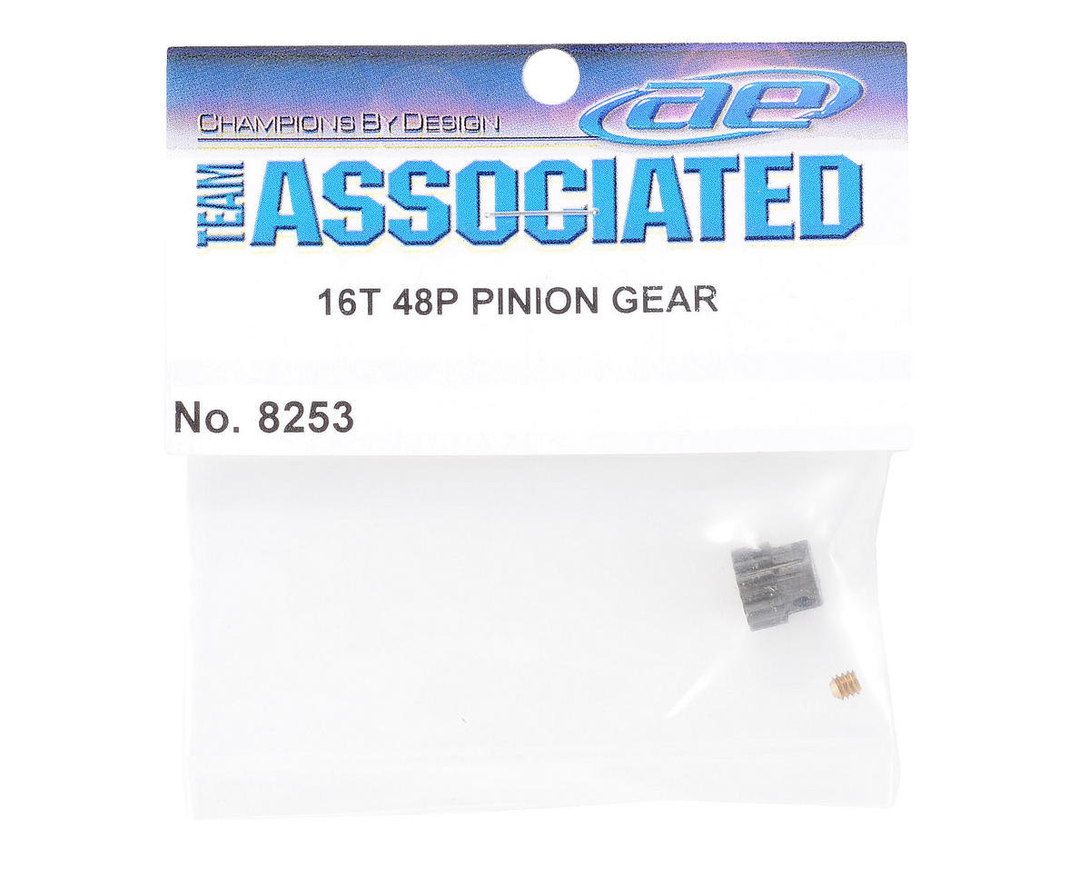 Team Associated 48P Pinion Gear (3.17mm Bore) (16T)