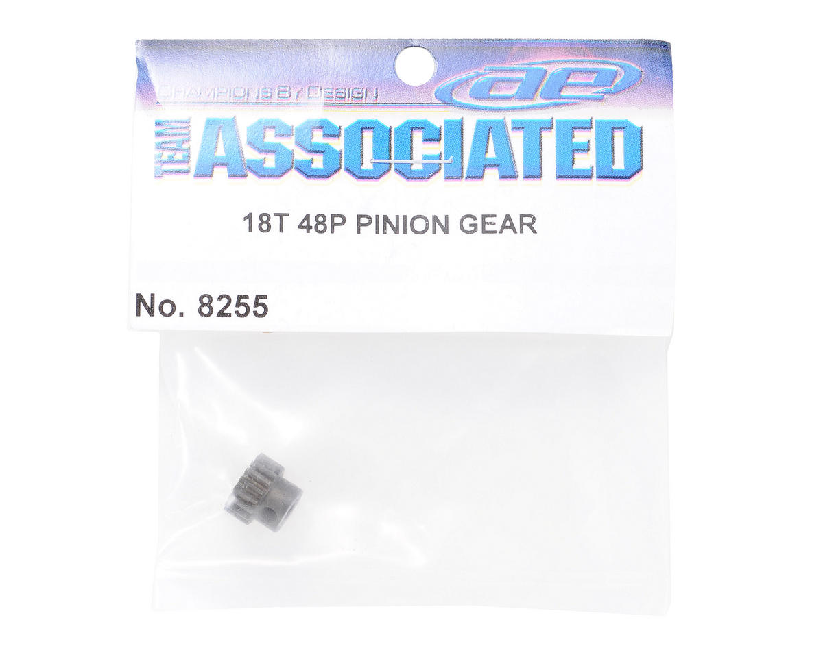 Team Associated 48P Pinion Gear (3.17mm Bore) (18T)