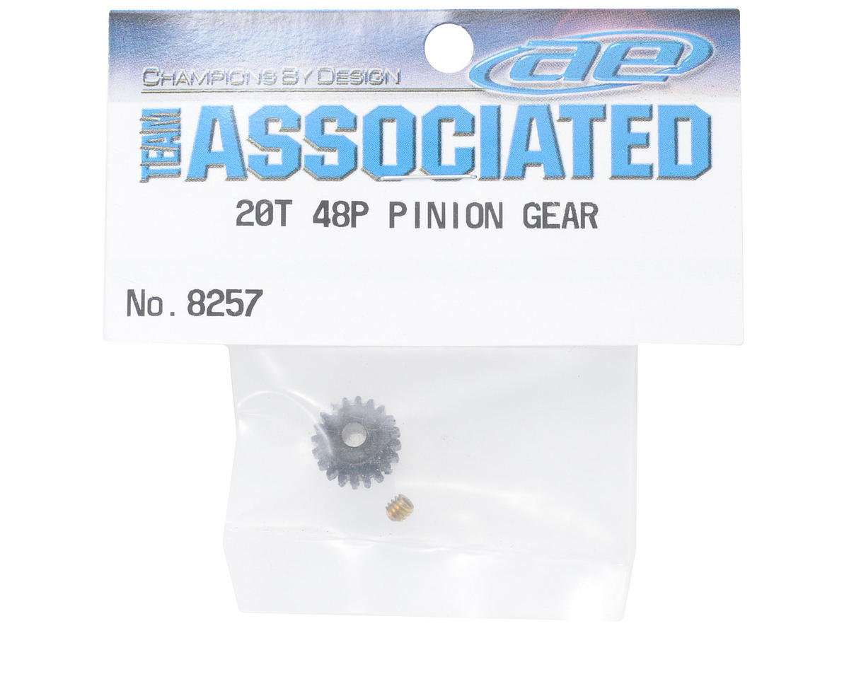 Team Associated 48P Pinion Gear (3.17mm Bore) (20T)