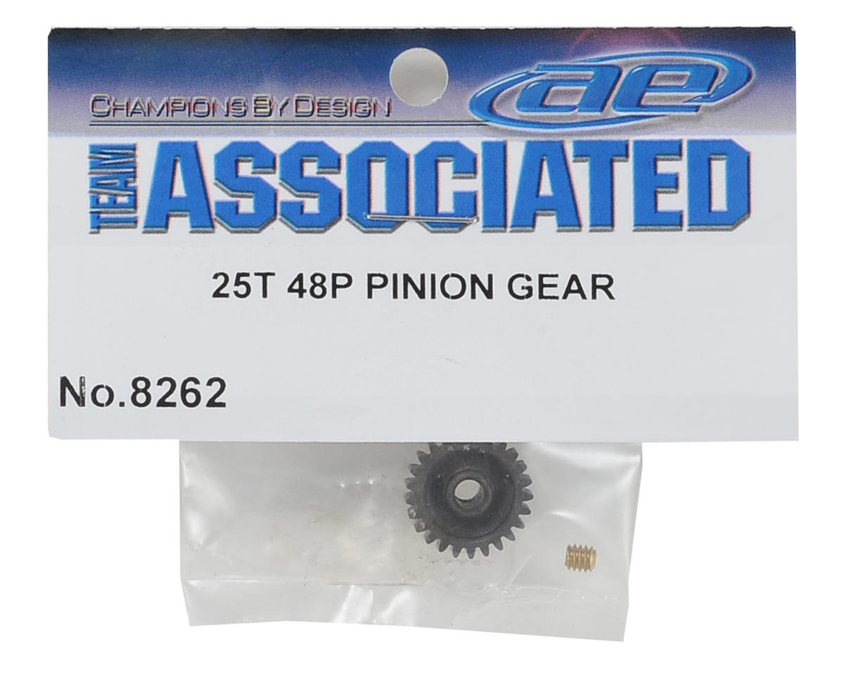 Team Associated 48P Pinion Gear (3.17mm Bore) (25T)