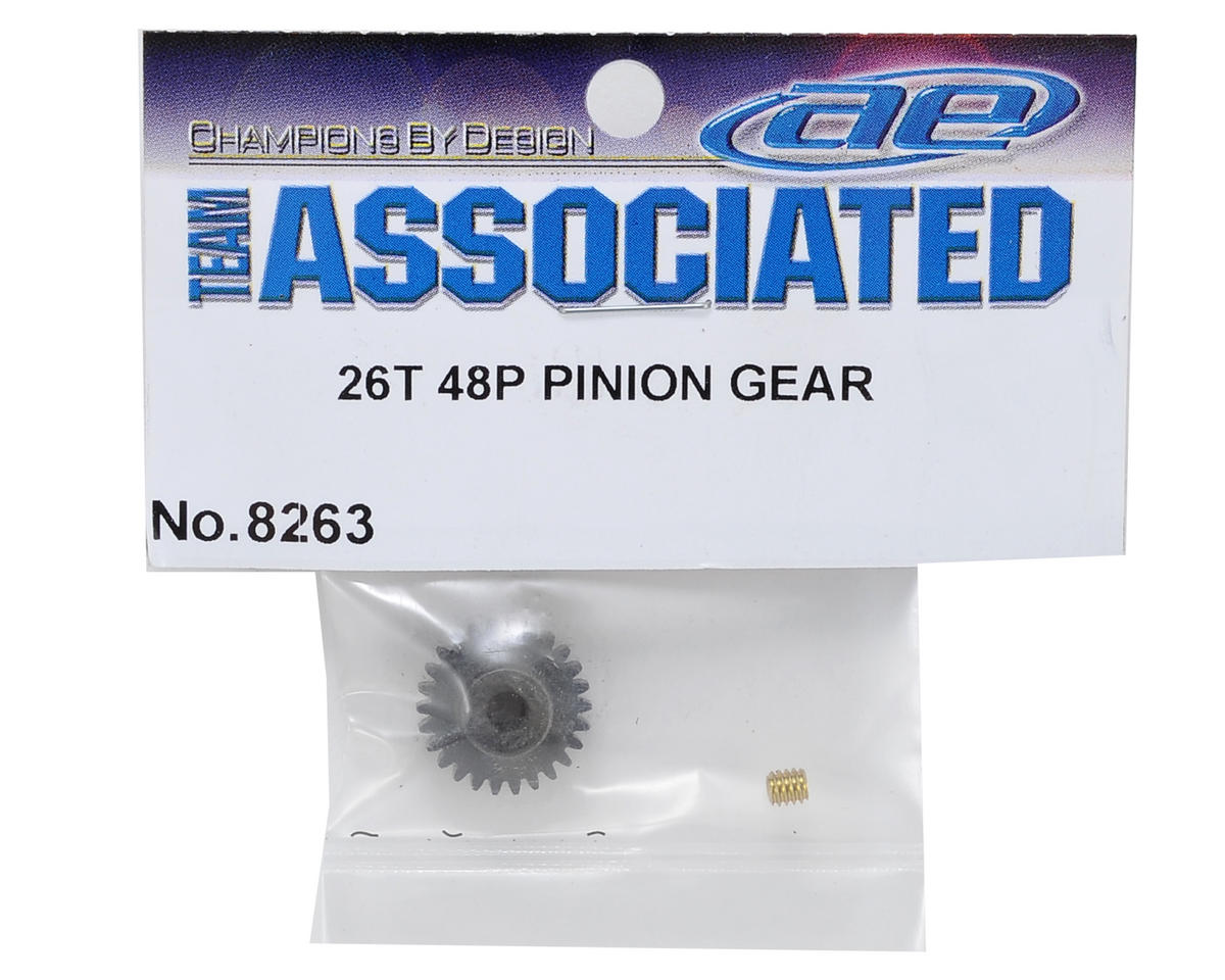 Team Associated 48P Pinion Gear (3.17mm Bore) (26T)