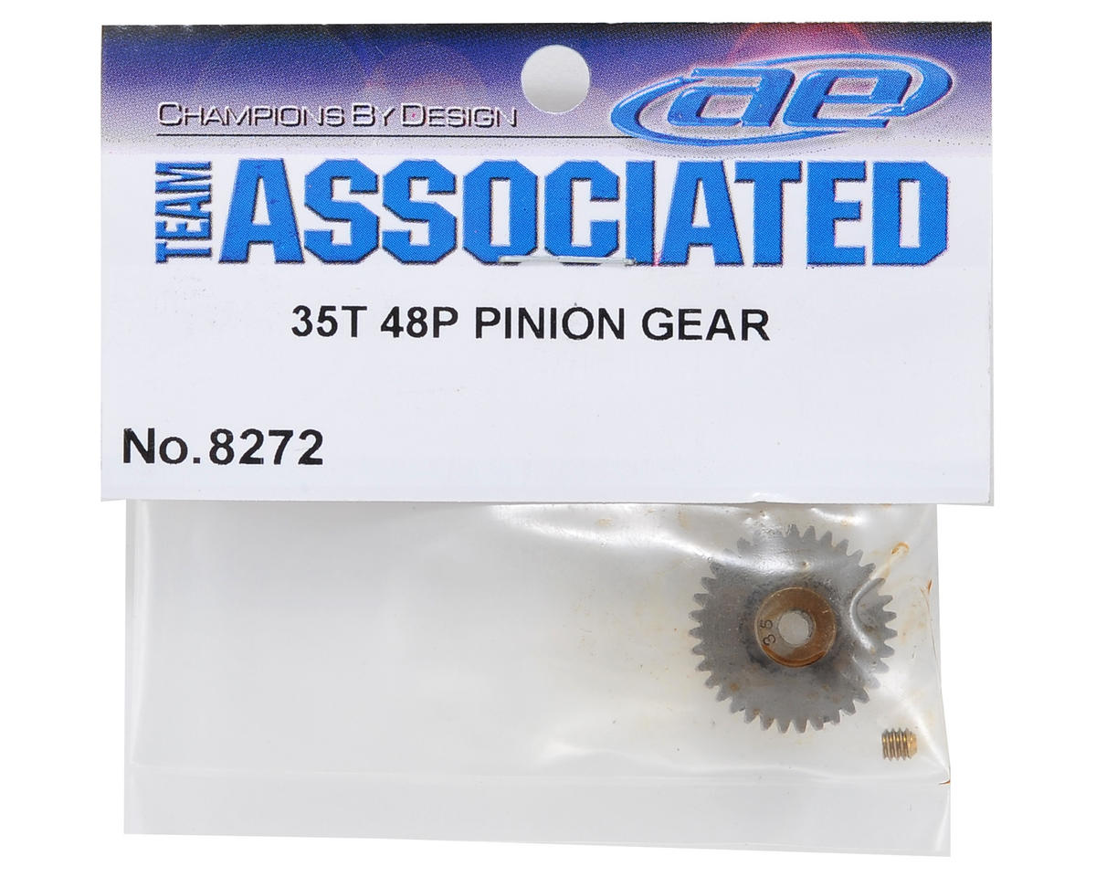 Team Associated 48P Pinion Gear (3.17mm Bore) (35T)