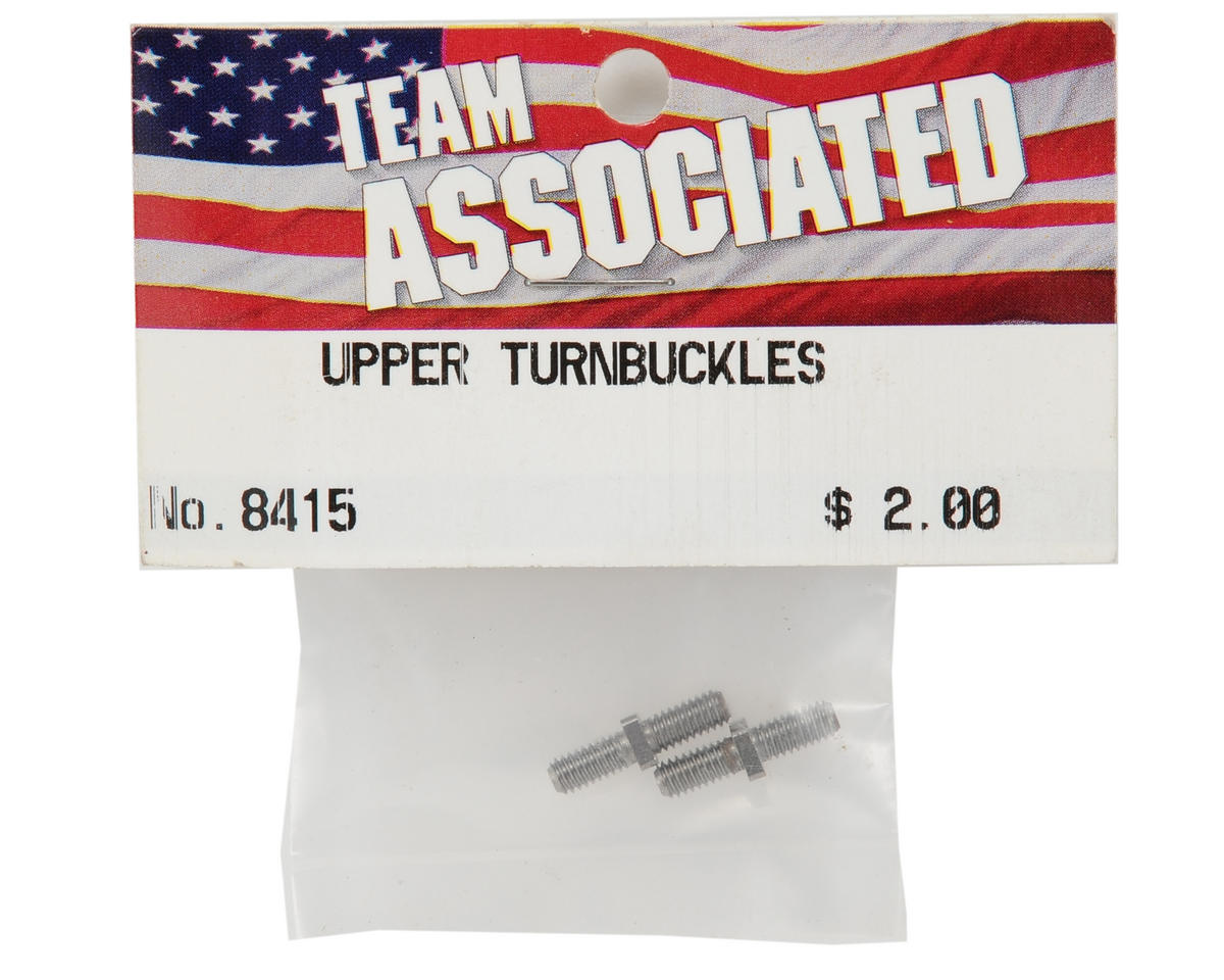 Team Associated Upper Suspension Arm Turnbuckle Set (2)