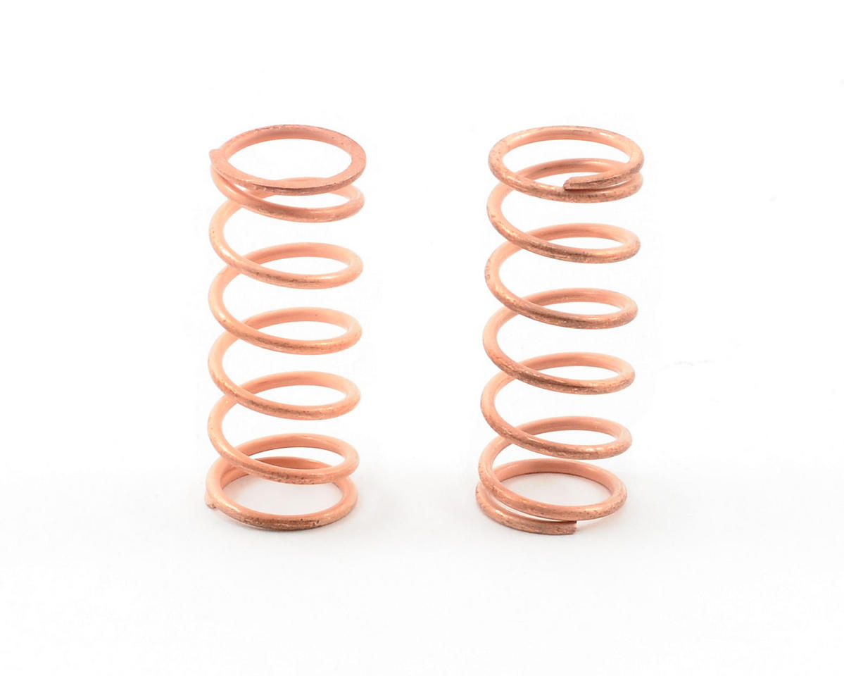 Team Associated RC10 R5 VCS Shock Spring Set (Copper - 16.0 XX Hard)