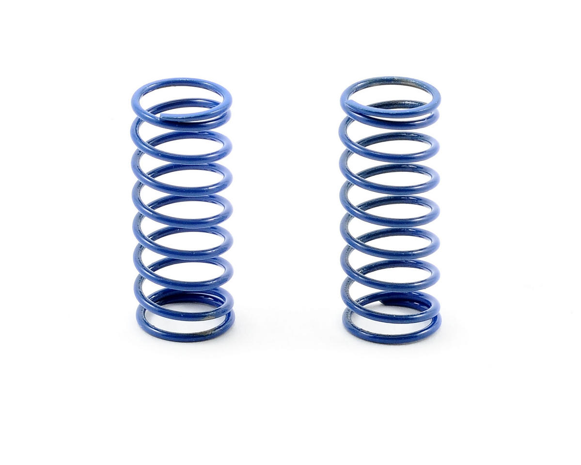 Team Associated RC12 R5 VCS Shock Spring Set (Blue - 10.0 Medium) (2)