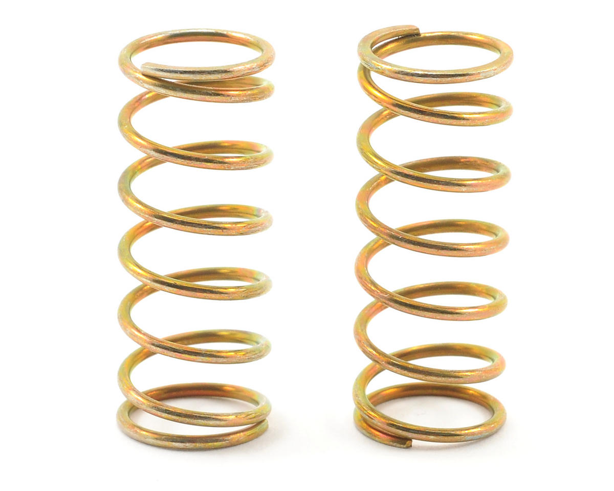 VCS Factory Team Shock Spring Set (Gold - 12.0 Hard) (2) by Team Associated