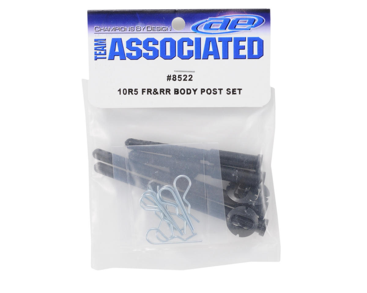 Team Associated Front/Rear Body Post Set