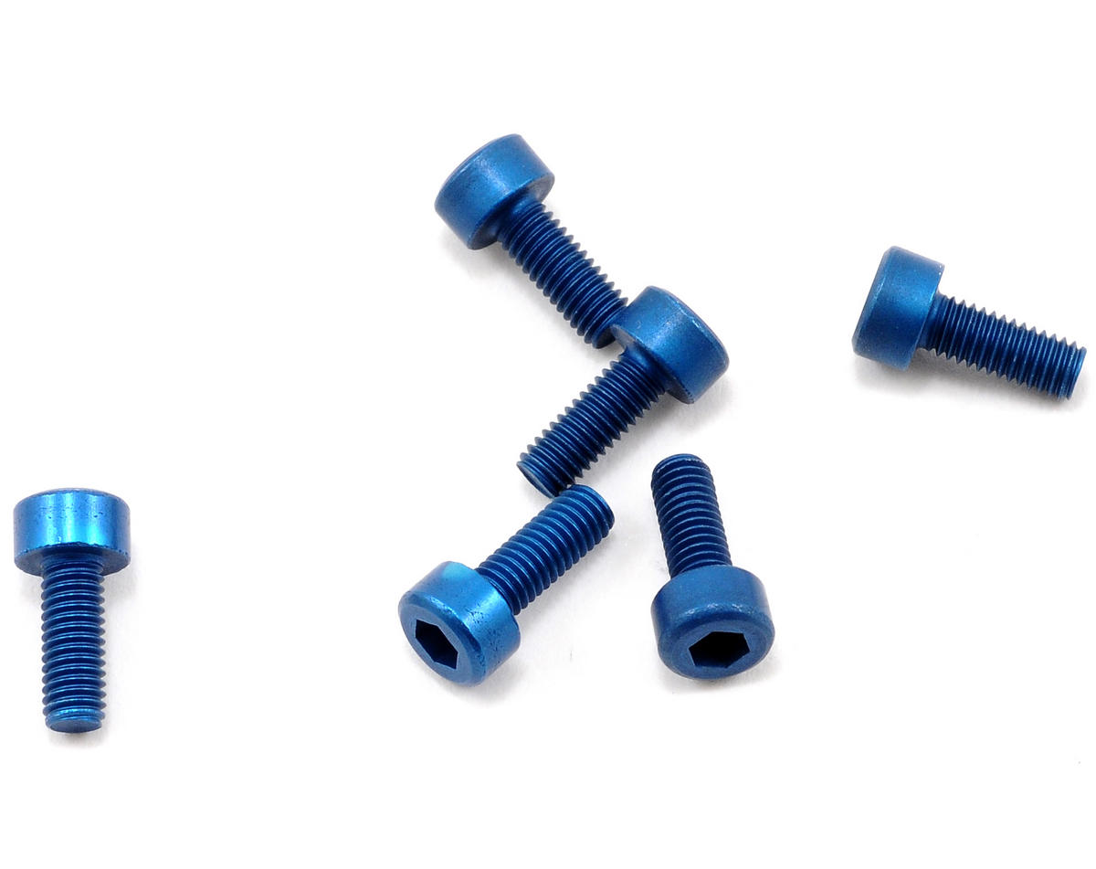 Team Associated Factory Team Aluminum 3x8mm Cap Head Screw (6)