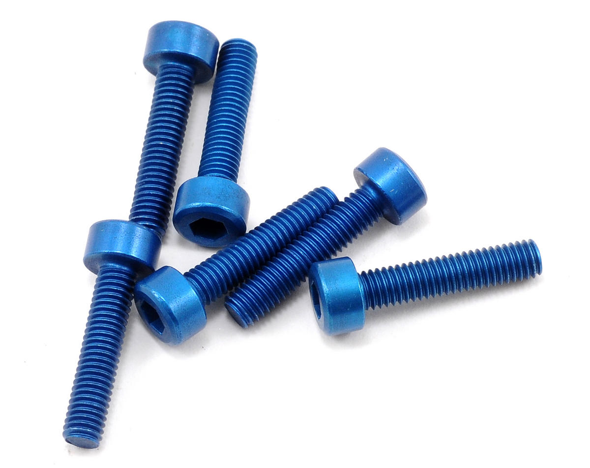 Team Associated SC10 4x4 Factory Aluminum 3x14mm Cap Head Screw (6)