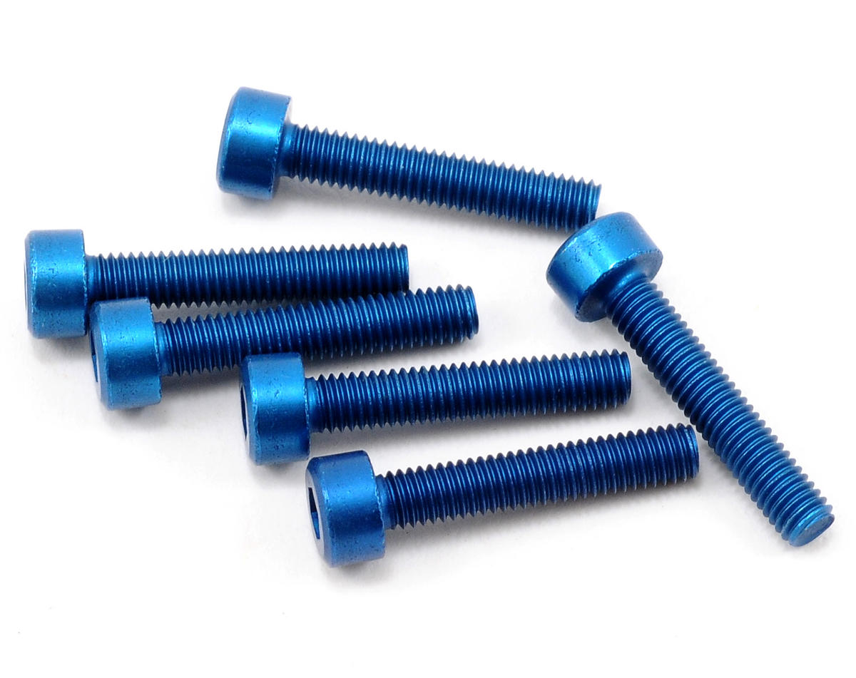 Team Associated Factory Team Aluminum 3x16mm Cap Head Screw (6)