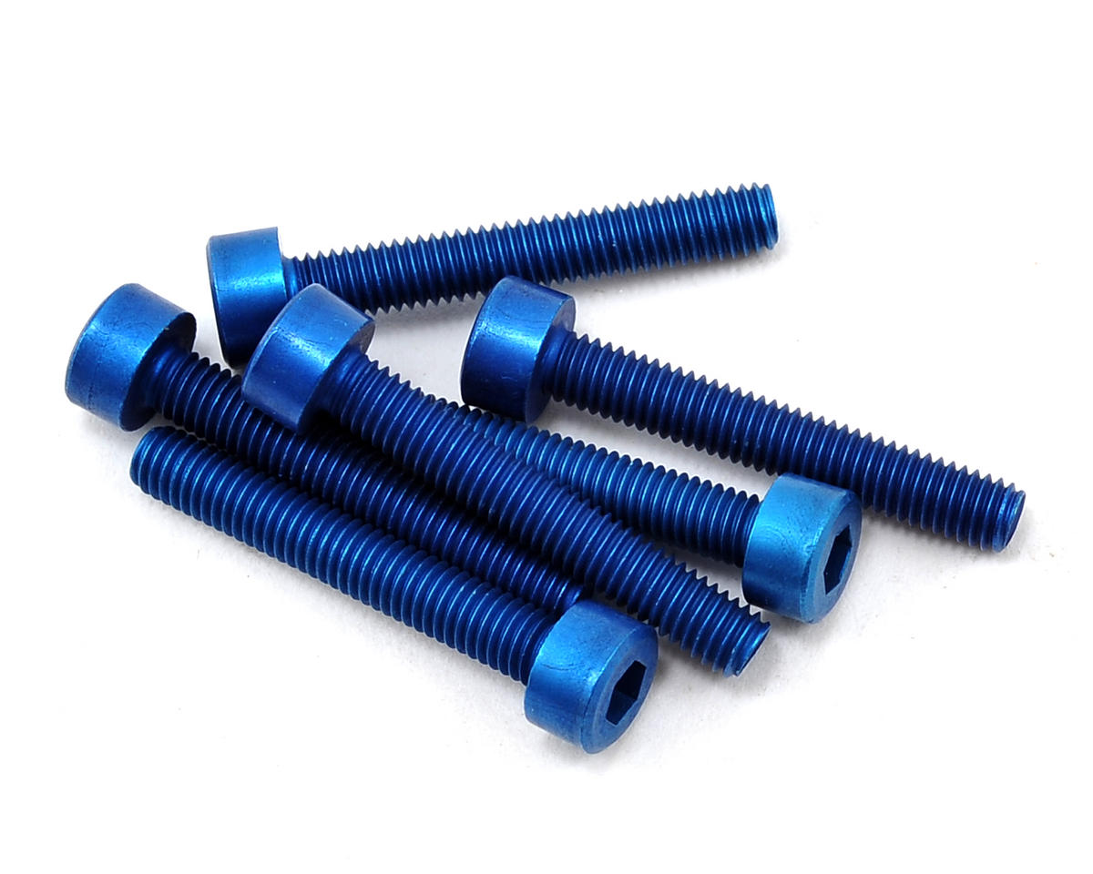 Team Associated Factory Team Aluminum 3x20mm Cap Head Screw (6)