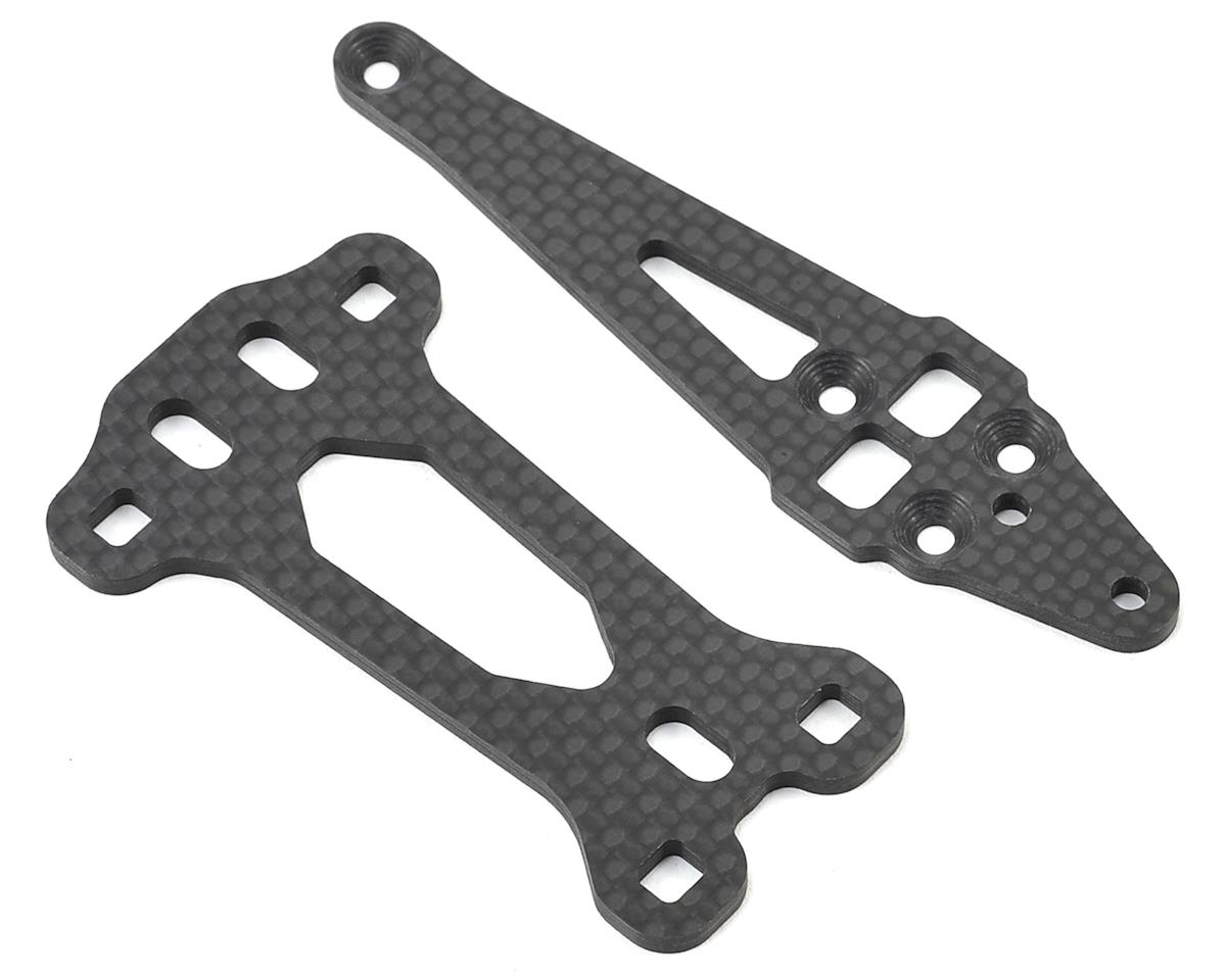 Team Associated RC10F6 Front Top Plate Set