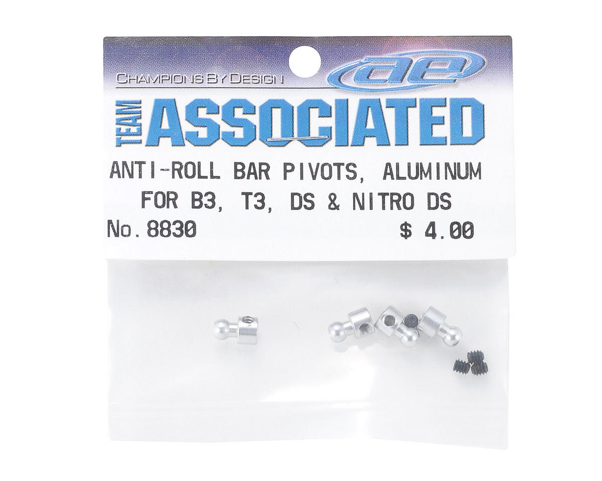 Team Associated Roll Bar Pivot (4)