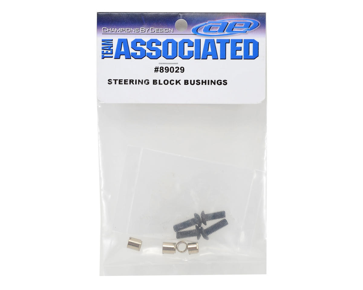 Team Associated Steering Block Bushings (RC8)