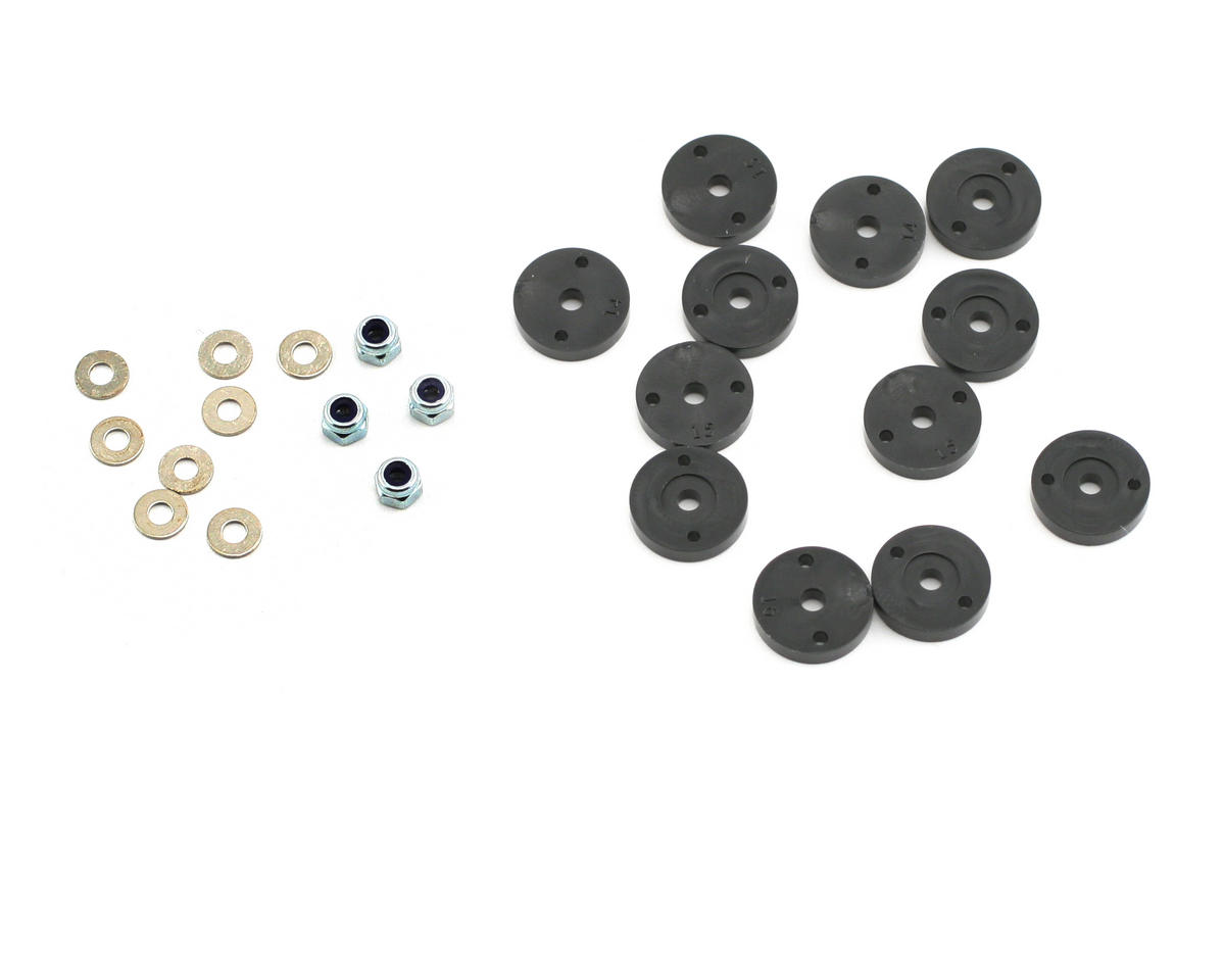 Team Associated Shock Piston Set (RC8)