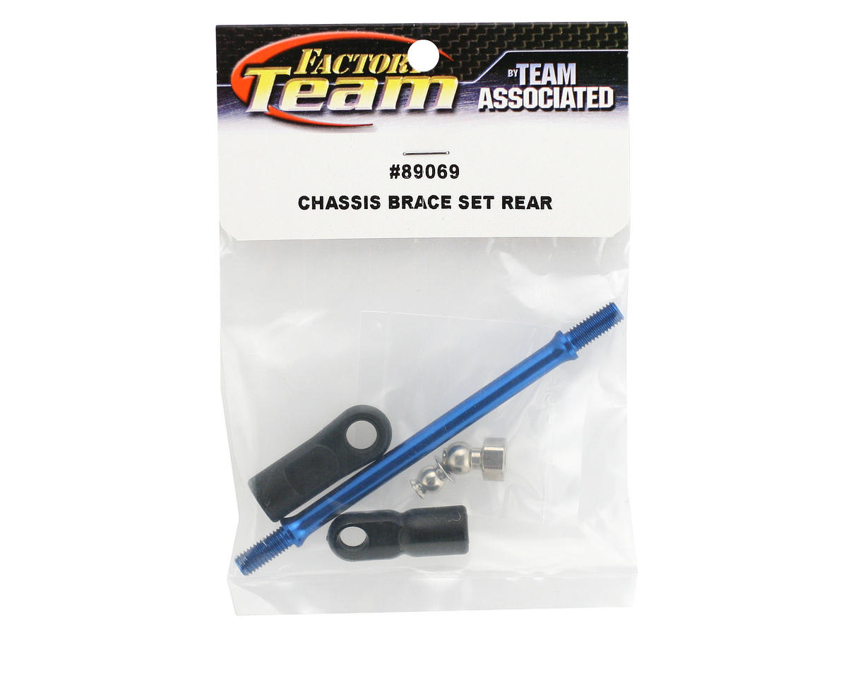 Team Associated Chassis Brace Set, Rear (RC8)