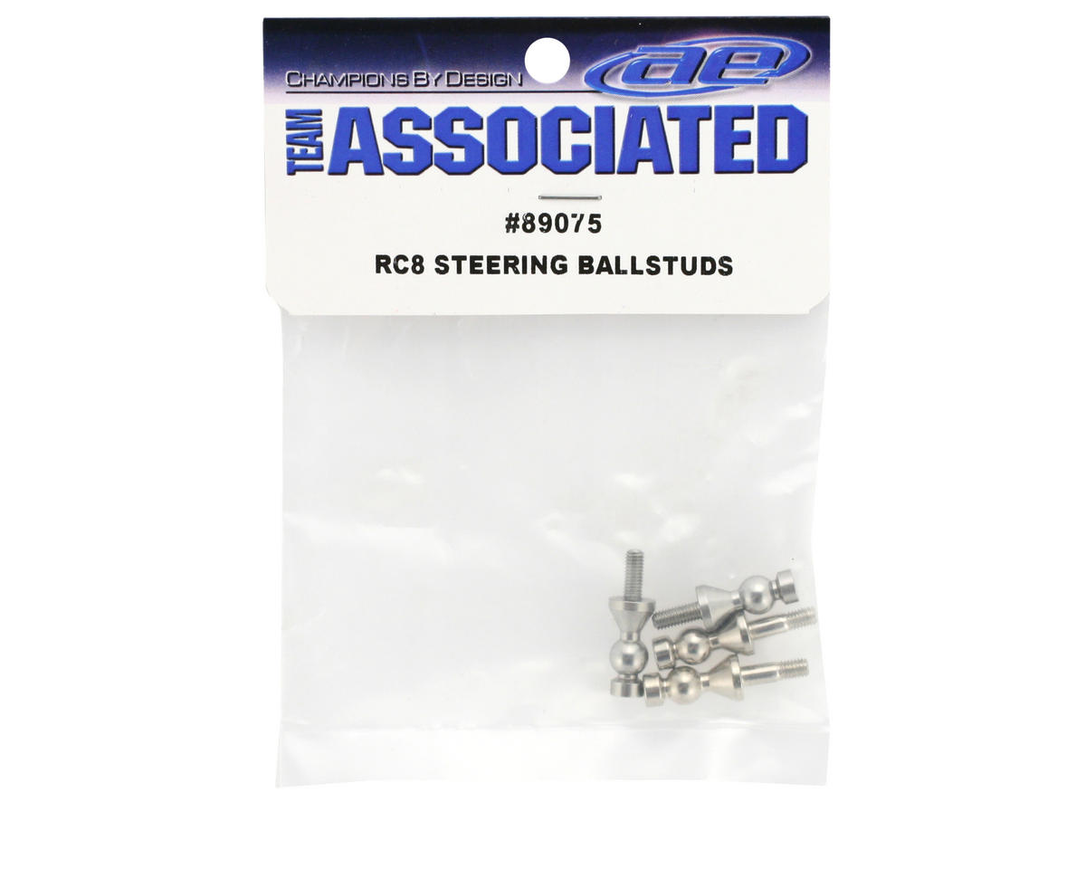 Team Associated Steering Ball Studs (RC8) (4)