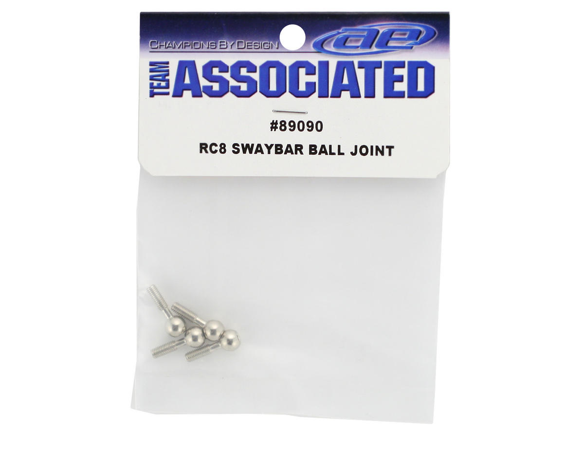 Team Associated Antiroll Bar Ball Joint (RC8) (4)