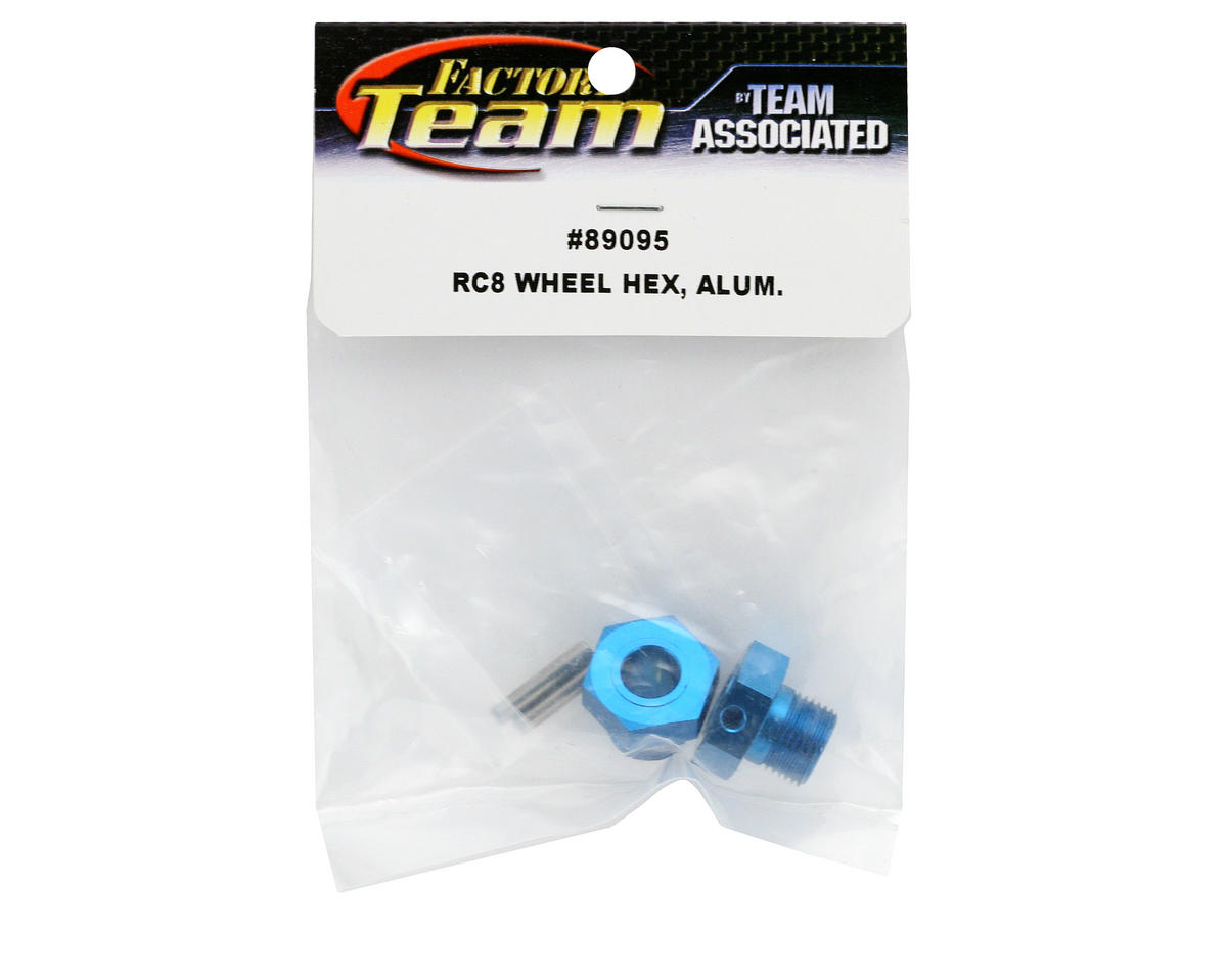 Team Associated Aluminum Wheel Hex (RC8)