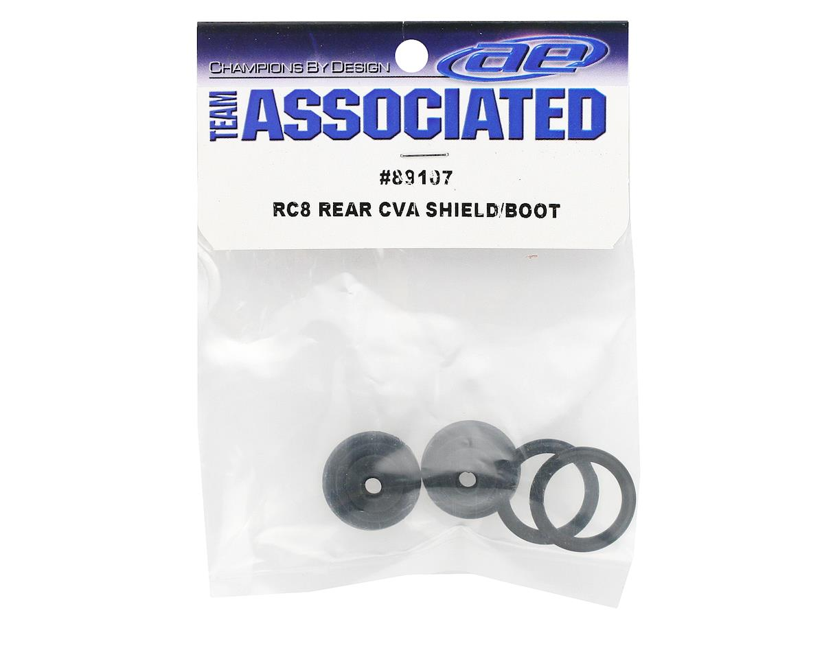 Team Associated Rear CVA Shield & Boot (RC8)