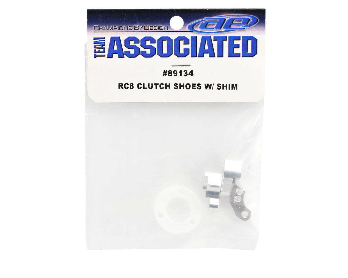 Team Associated Clutch Shoes With Shim (RC8)
