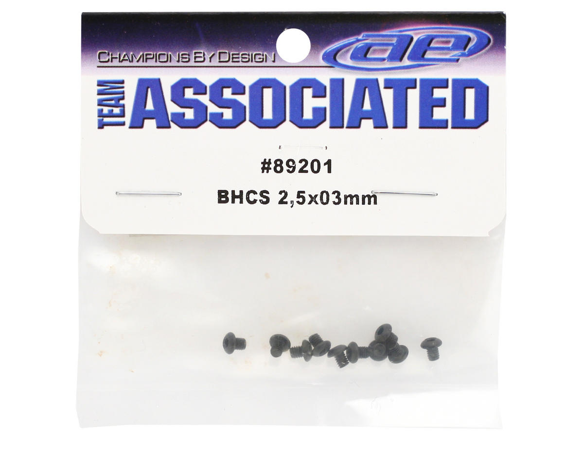Team Associated 2.5x3mm BHC Screws (10)