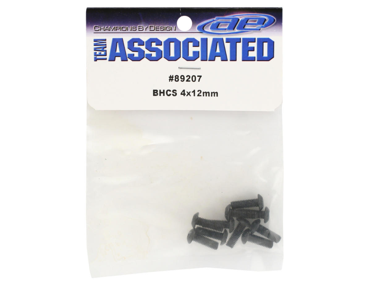 Team Associated 4x12mm BHC Screws (10)