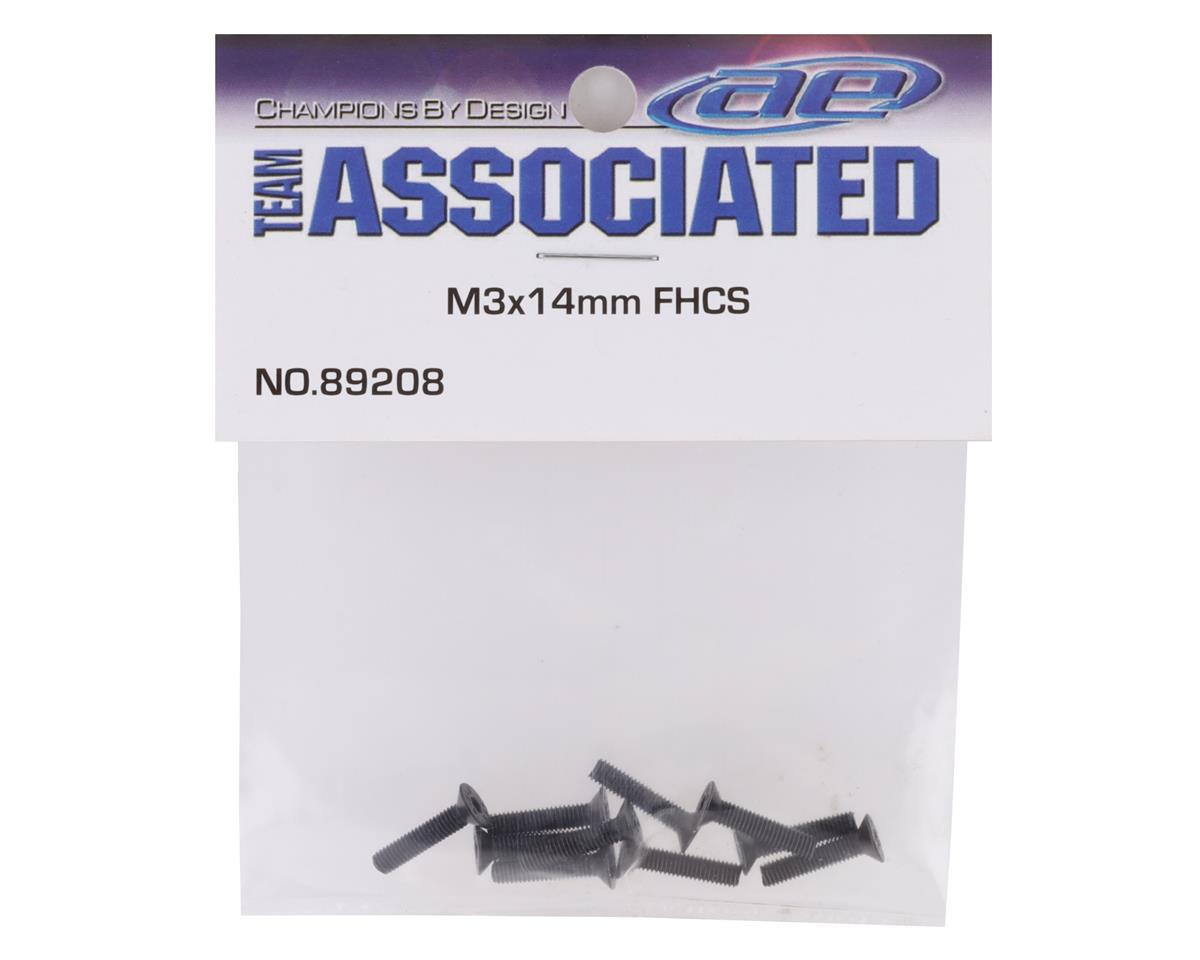 Team Associated 3x14mm FHC Screws (10)