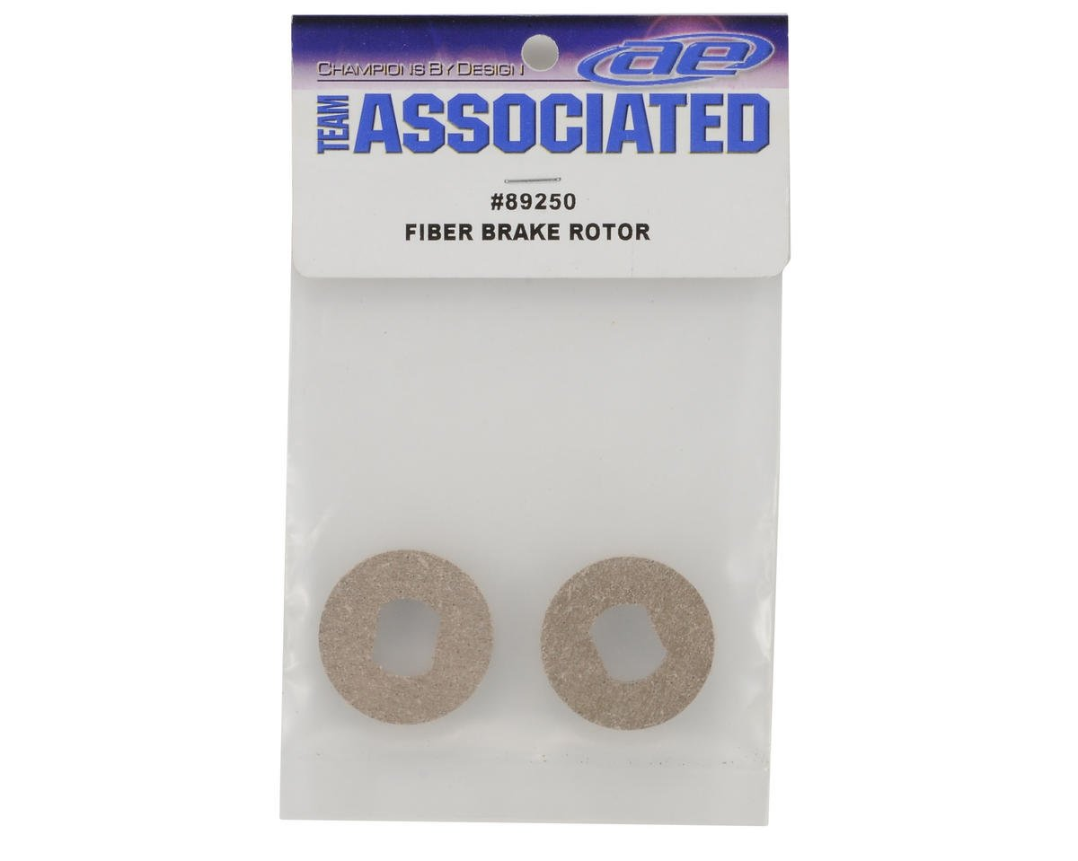 Team Associated Fiber Brake Rotor Set (2)