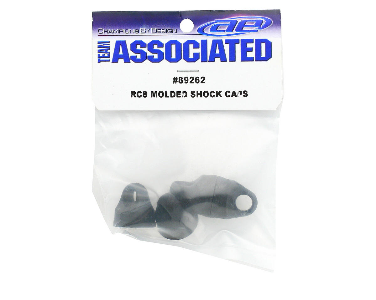 Team Associated Molded Shock Caps (4) (RC8RS)