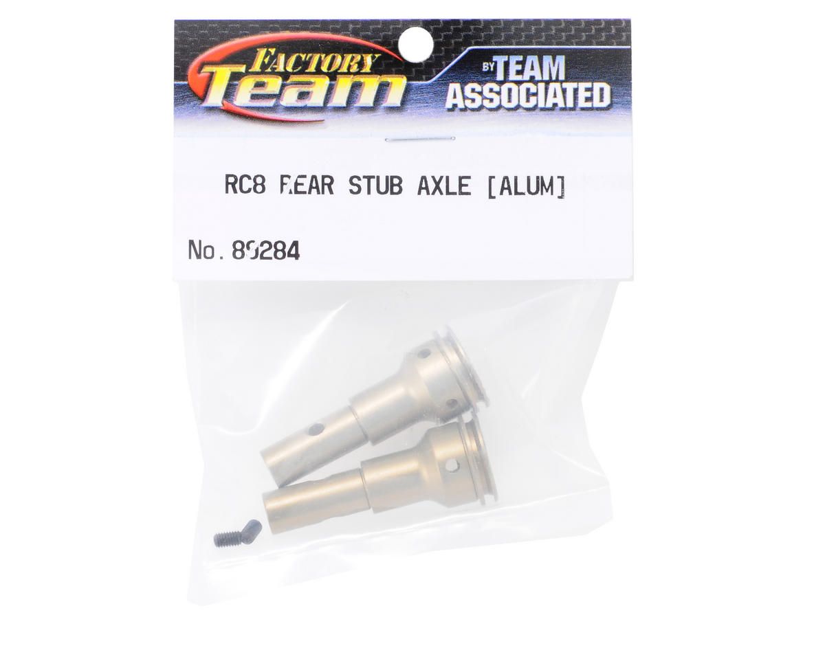 Team Associated Factory Team Aluminum Rear Stub Axle (2) (RC8)