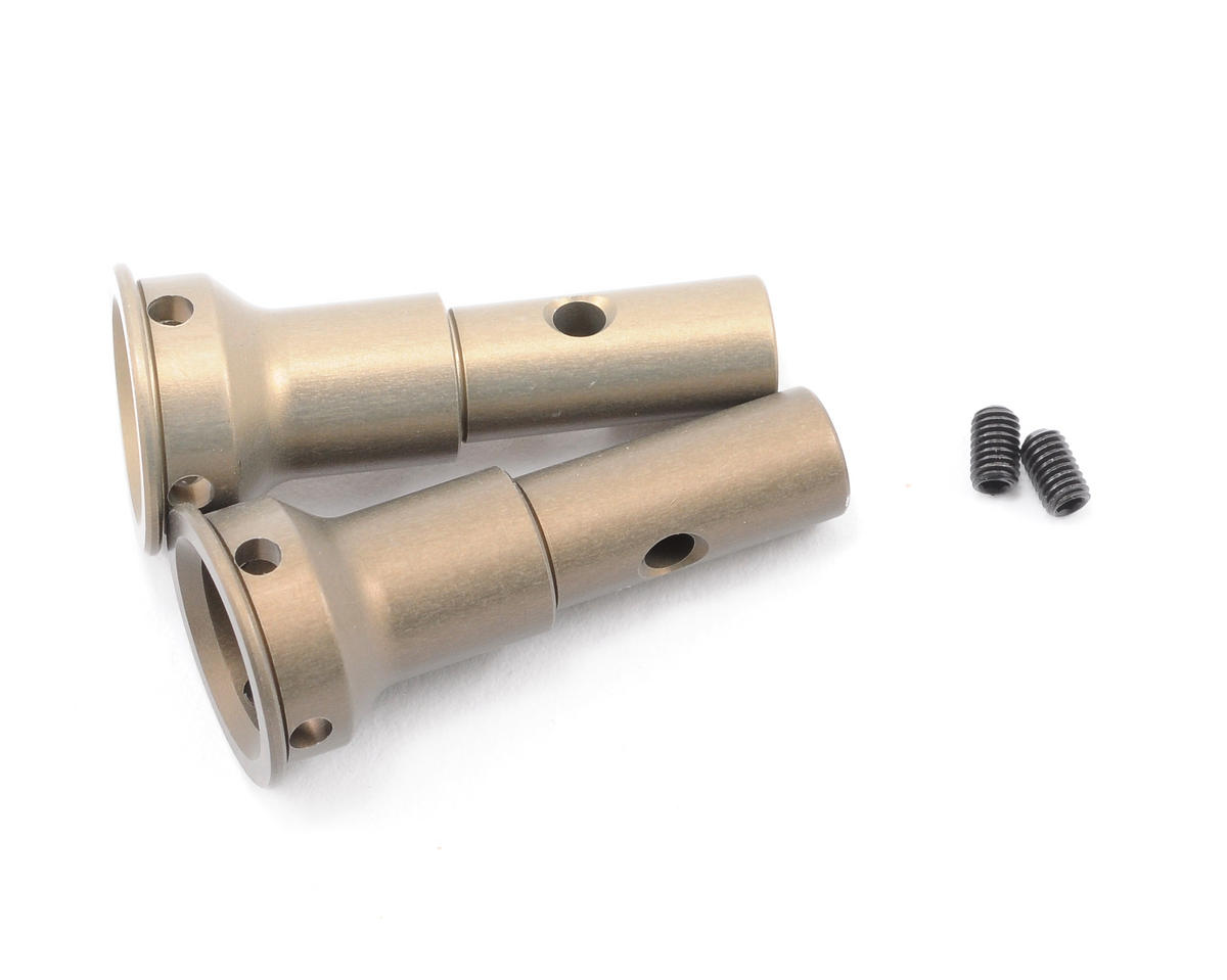 Team Associated Factory Team Aluminum Front Stub Axle (2) (RC8) | relatedproducts