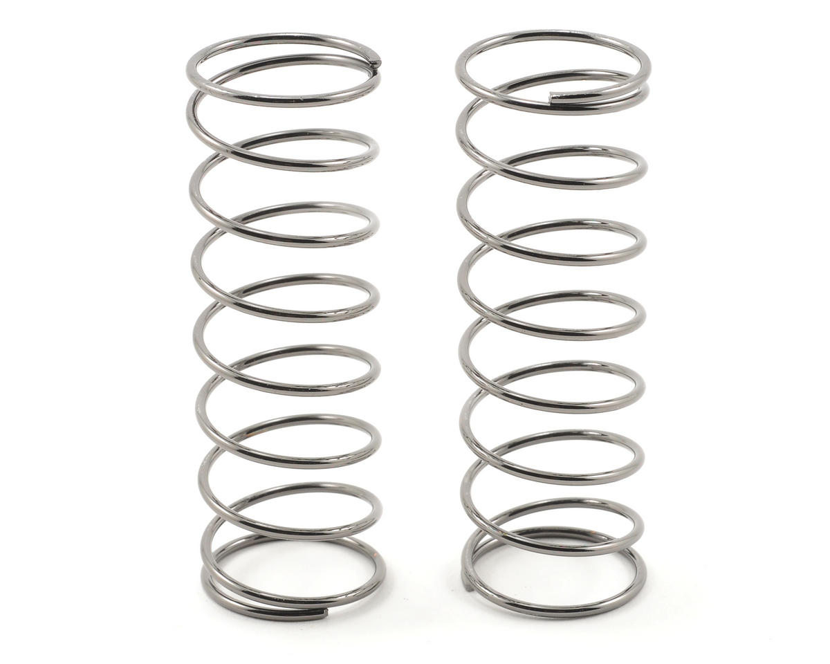 Team Associated 16x29mm Front Shock Spring Set (Grey - 3.9 lbs) (2)