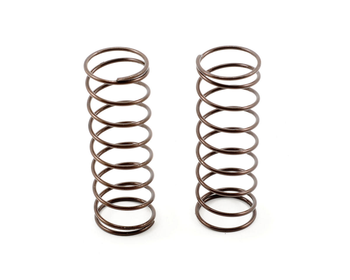 16mm RC8 Big Bore Front Spring Set (2) (4.7 lb) by Team Associated
