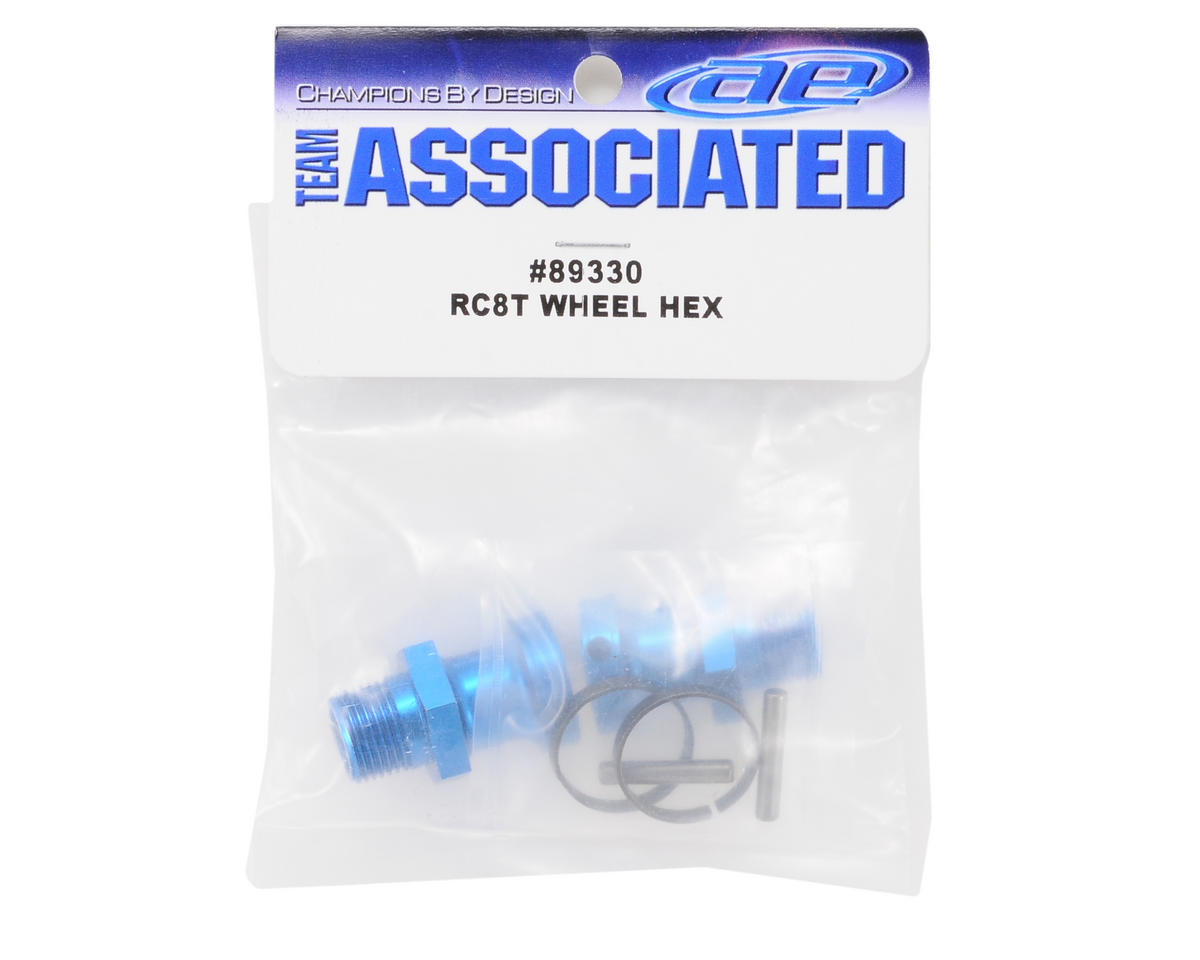 Team Associated RC8T Wheel Hex Set