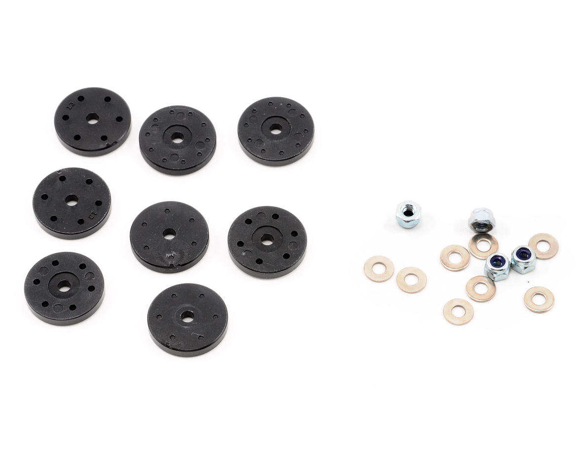 Team Associated SC8 16mm Shock Piston Set