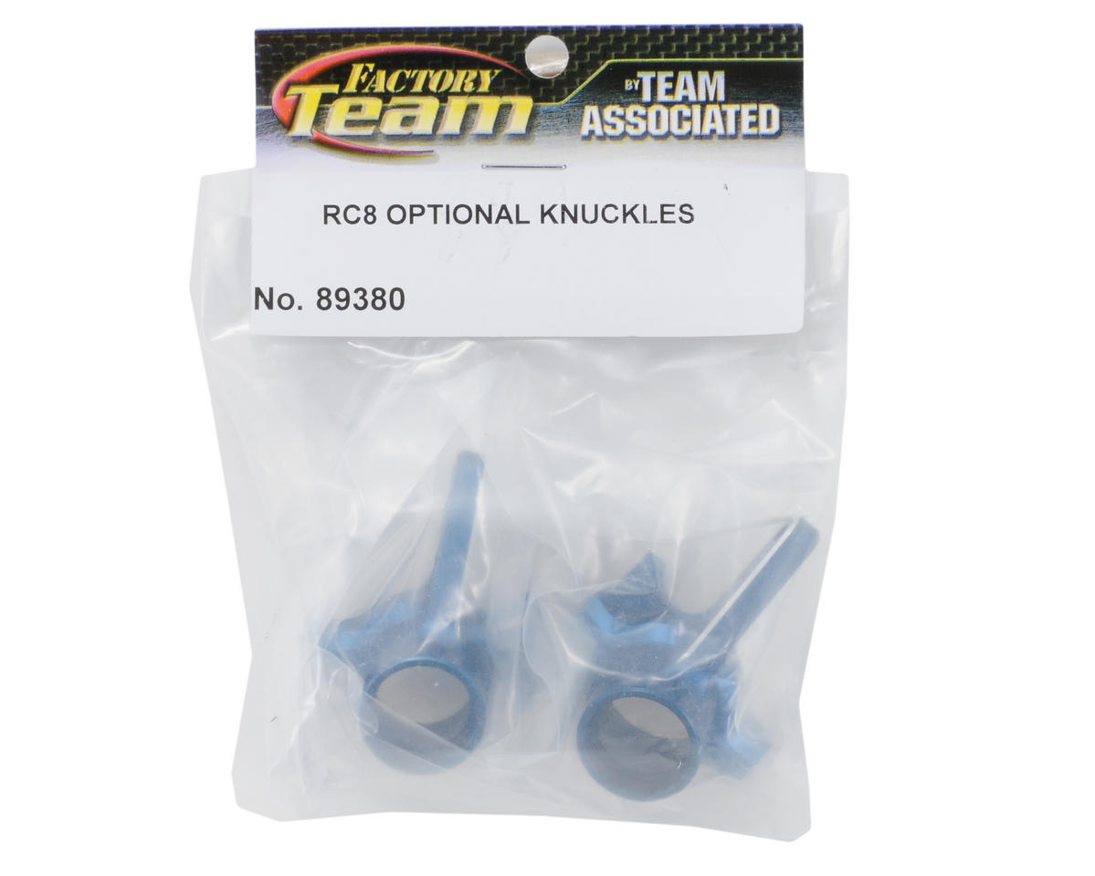 Team Associated Aluminum Factory Team Knuckle (Blue) (2)